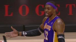 Howard's second-quarter ejection Sunday another bizarre detail in the Laker's dismal season.
