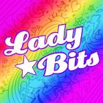 Lady Bits Logo Rainbow